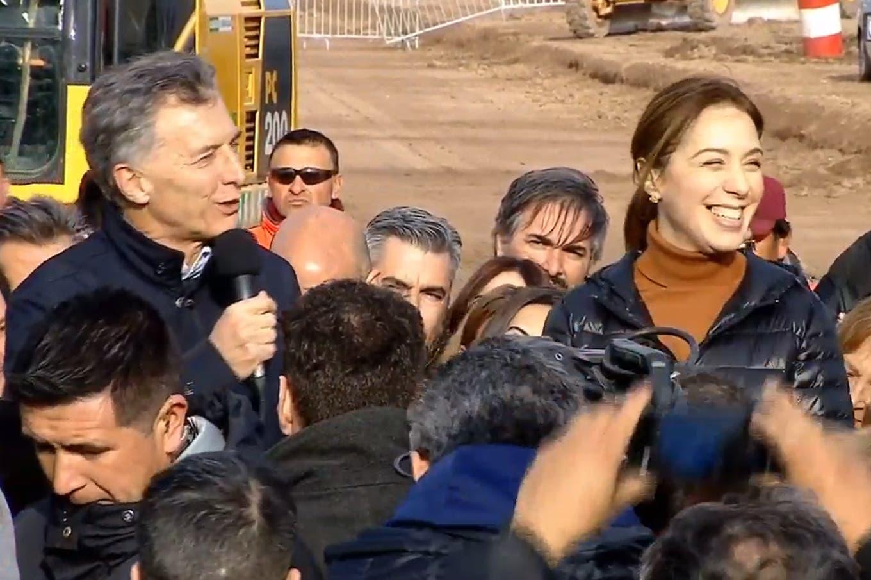En campaña: Macri habló del acuerdo con la Unión Europea, de Guillermo Moreno y comparó al país con los Jaguares