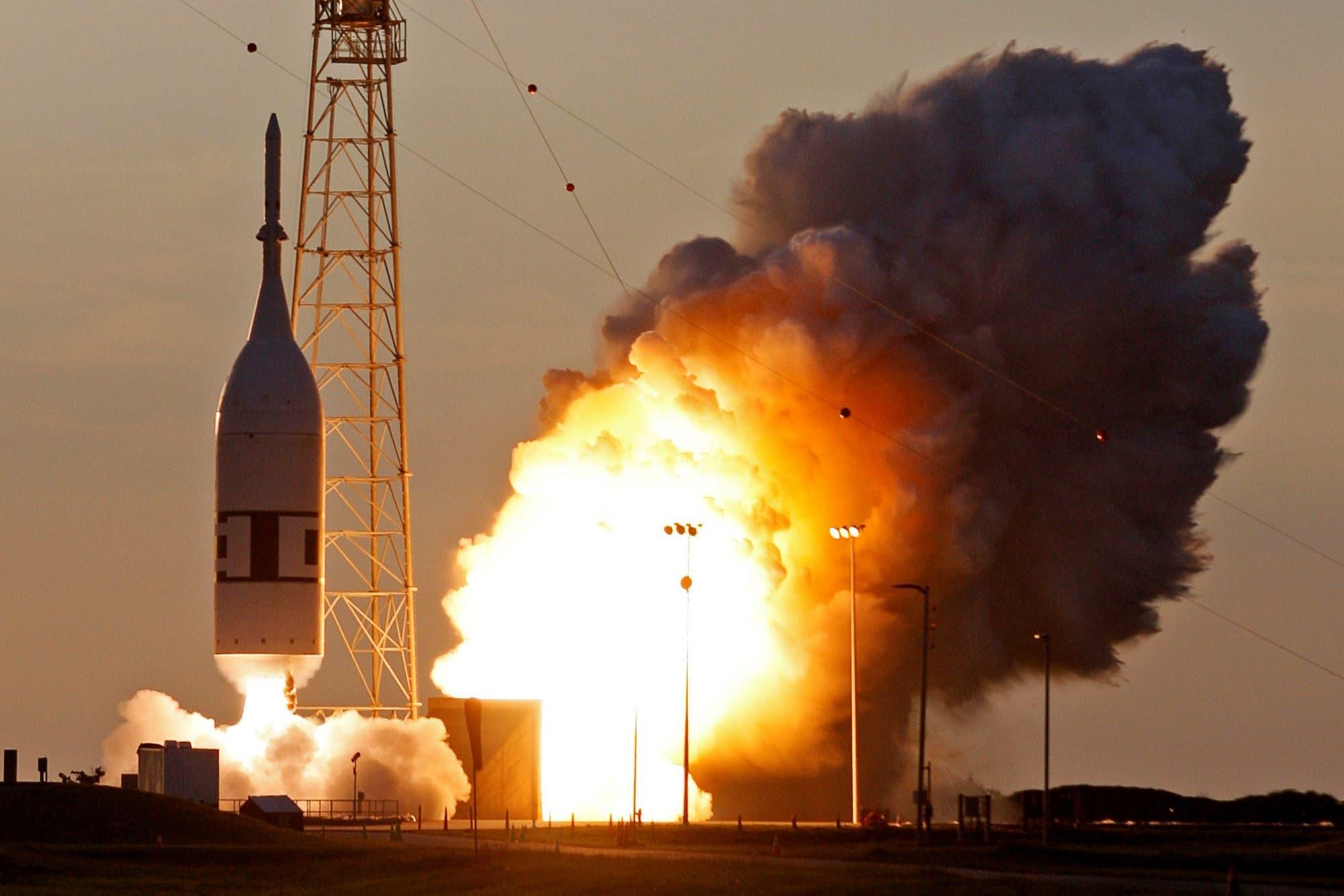 Así funcionó el sistema de emergencia de la cápsula Orion que probó la NASA