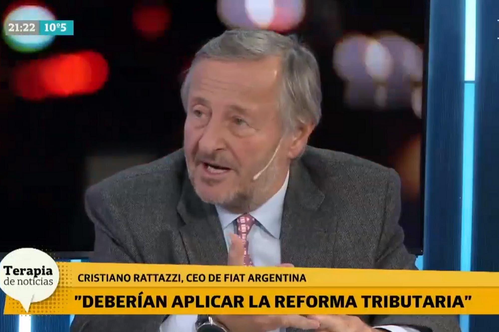 """Cristiano Rattazzi: """"Prefiero los autos europeos a los brasileños porque son mejores y más baratos"""""""
