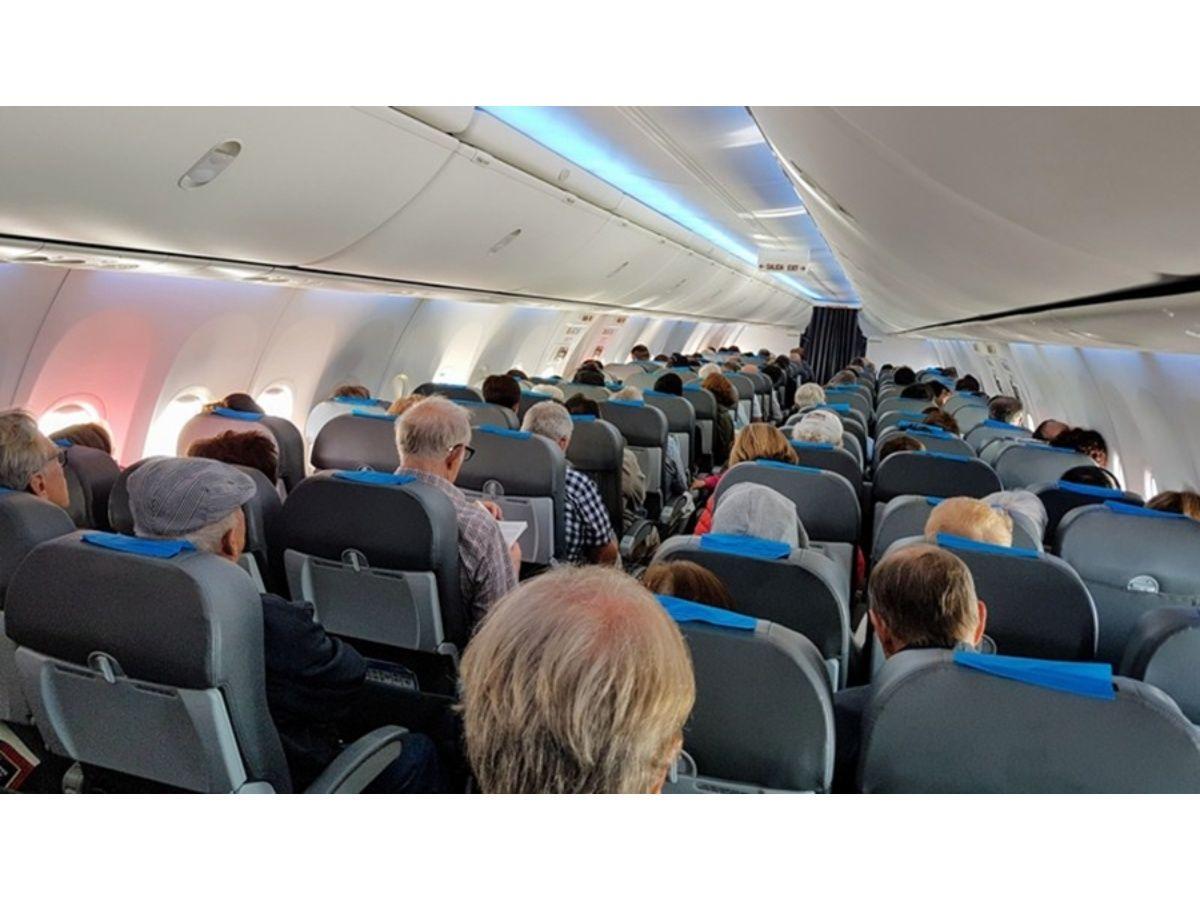 Cada vez son más los pasajeros en vuelos de cabotaje