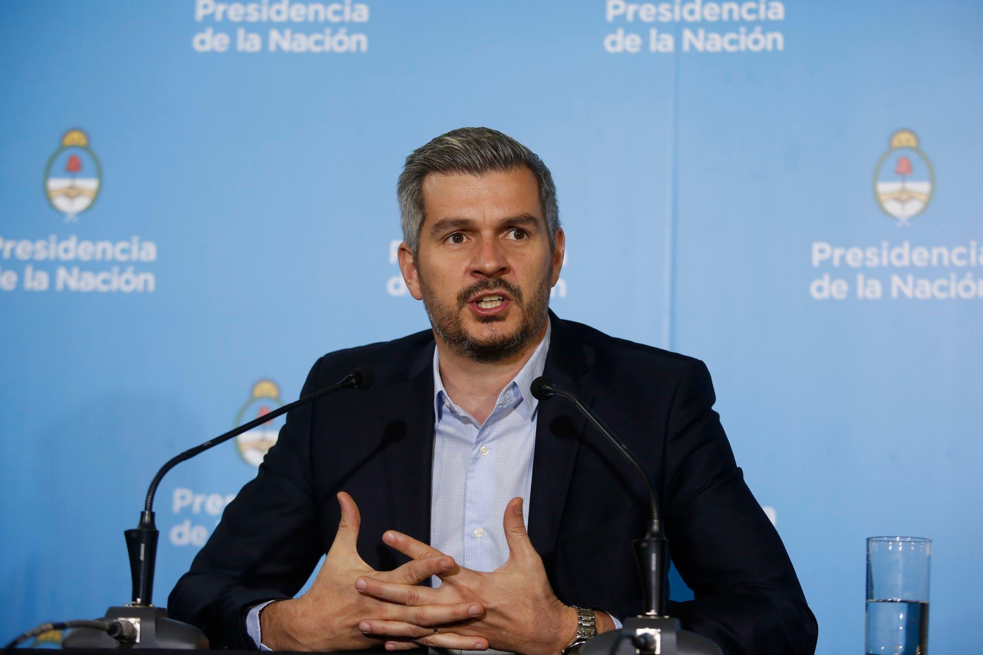 """Marcos Peña: """"Cristina no da la cara y no aparece dando la discusión pública"""""""