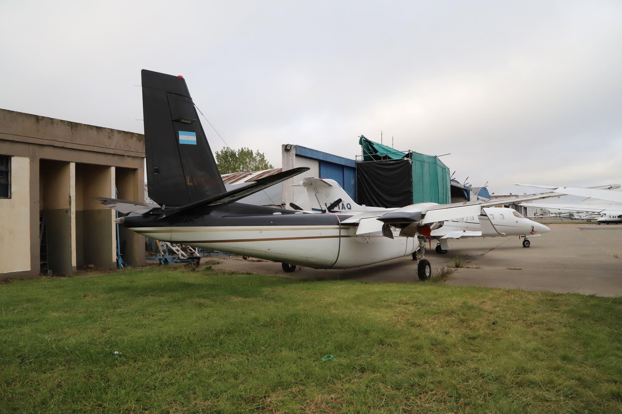 Subastan un avión de Lázaro Báez