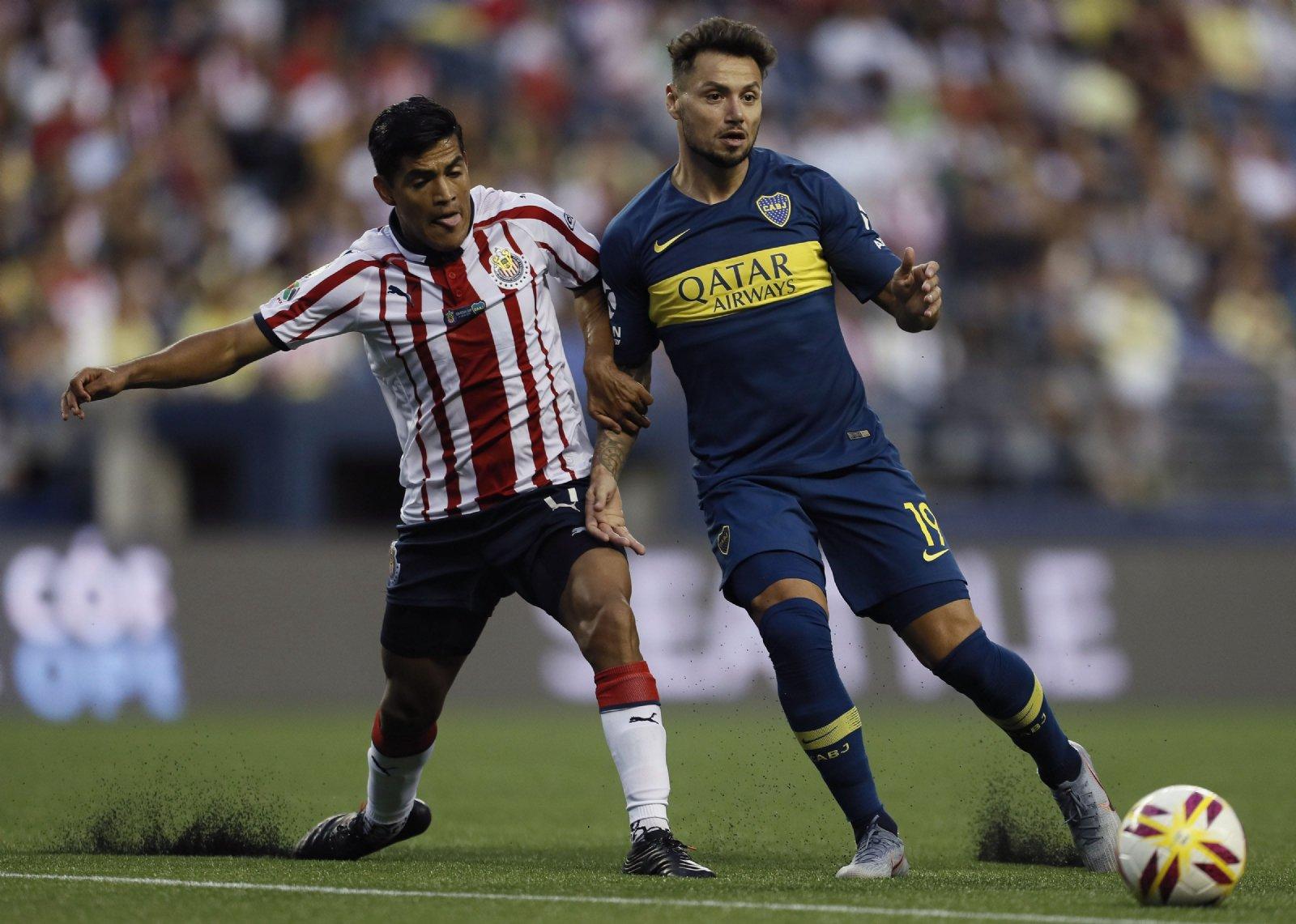 Boca venció 2-0 a Chivas de Guadalajara
