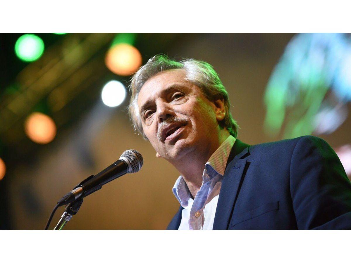 Alberto prometió que los jubilados no pagarán medicamentos en su gobierno