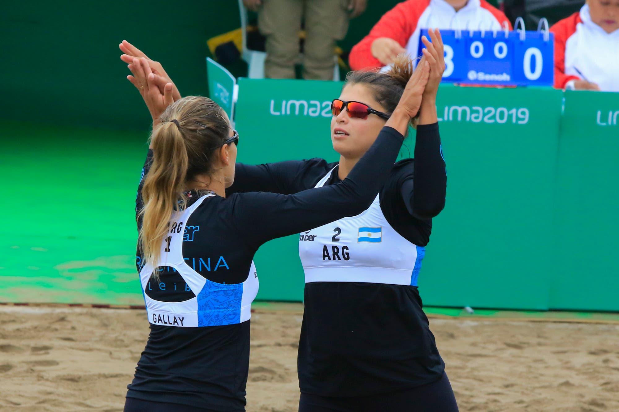 Juegos Panamericanos Lima 2019. La nueva dupla de guerreras de la arena que defiende el oro en Beach voley