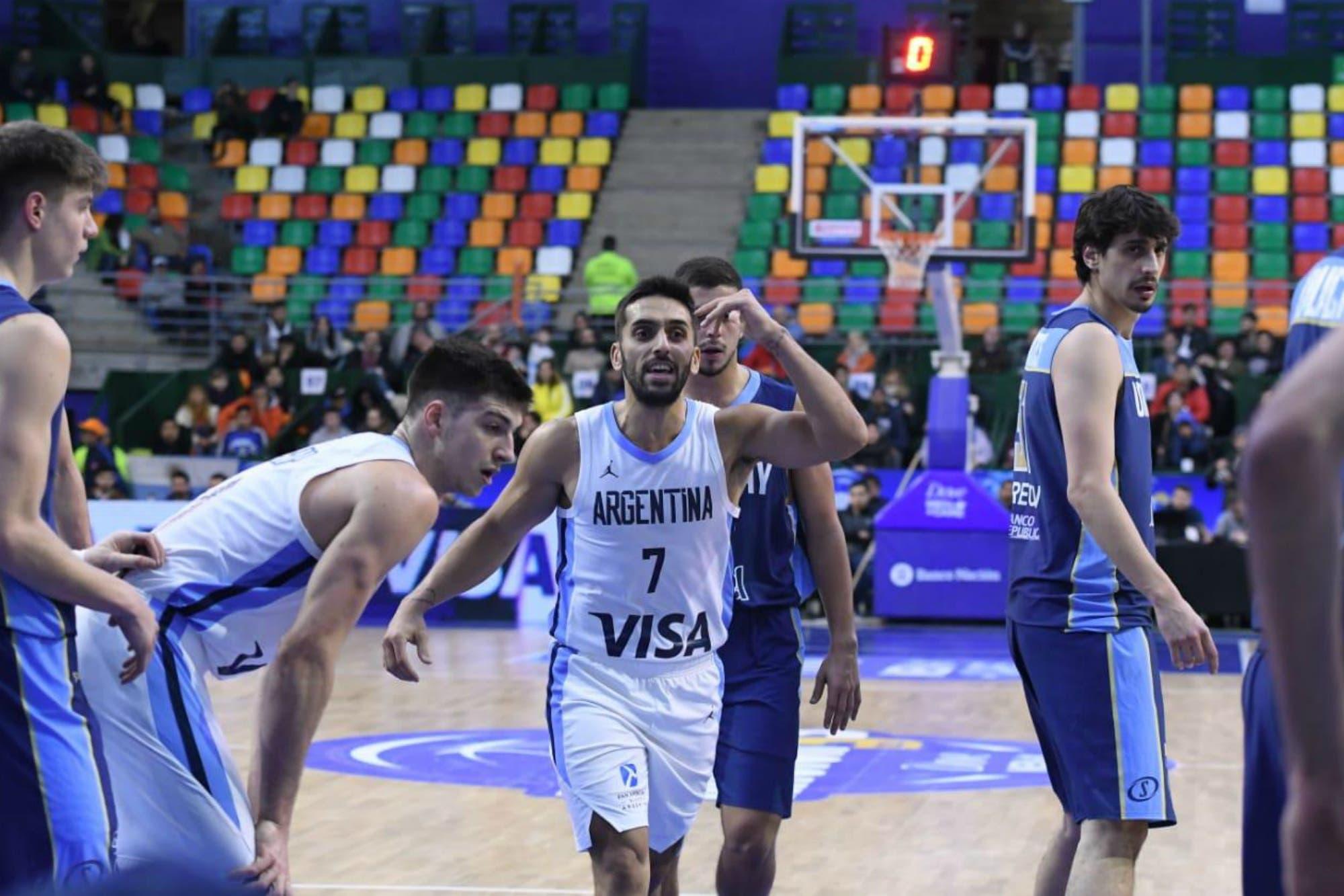 La Argentina le ganó a Uruguay en la primera prueba para los Juegos de Lima y el Mundial de China