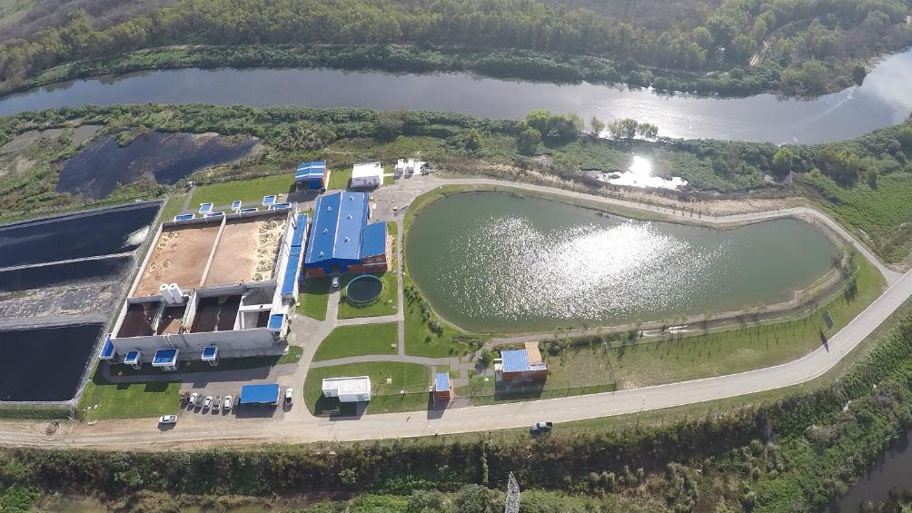 El Ceamse inaugura fábrica de ecoladrillos, realizados en base a residuos sólidos urbanos