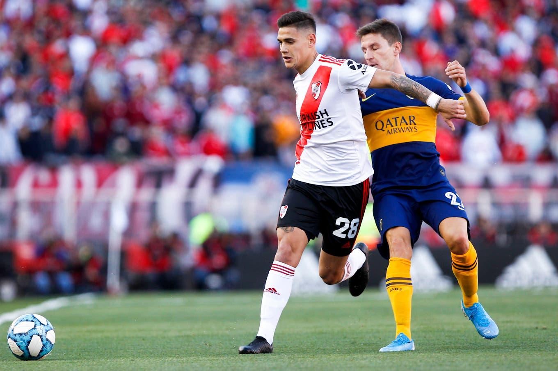 River-Boca. Martínez Quarta, mucho más que un defensor: un sólido superclásico antes de la selección