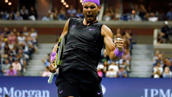 Rafael Nadal le ganó a Marin Cilic y será el rival de Diego Schwartzman en los cuartos de final del US Open