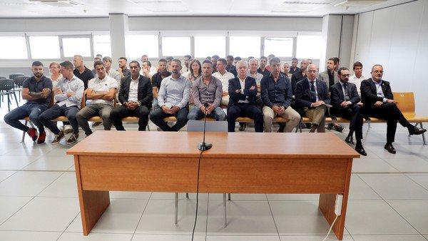 Comenzó el juicio a Ponzio, Bertolo y Leo Franco por el arreglo de un partido