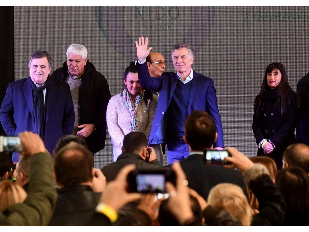 """Macri afirmó que está """"con todas las energías para ir al balotaje"""""""