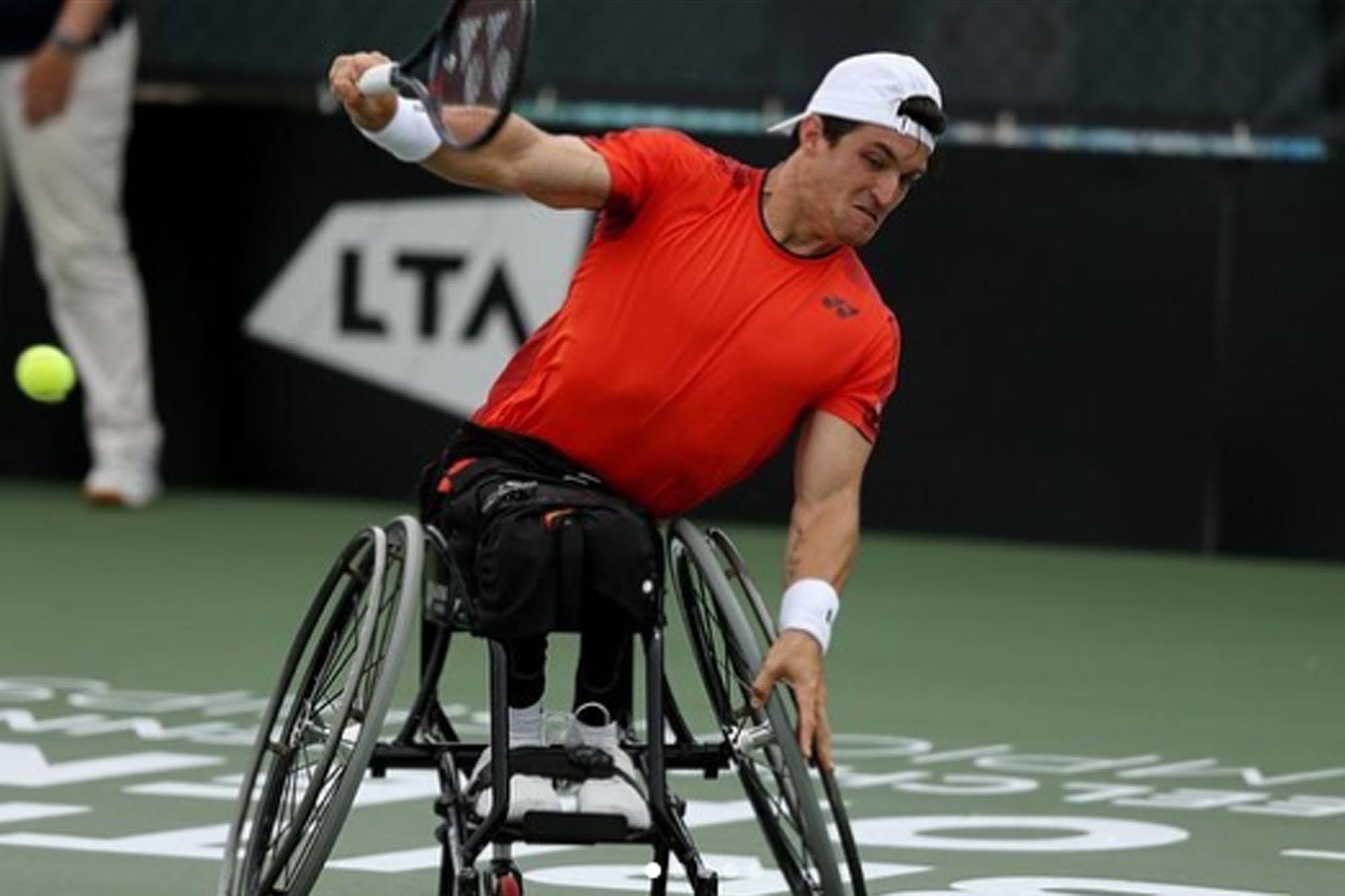US Open: Gustavo Fernández comienza la inédita búsqueda del Grand Slam en tenis adaptado