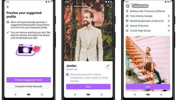 """Lanzan Facebook Dating en Argentina: la competencia de Tinder para """"relaciones reales a largo plazo"""""""