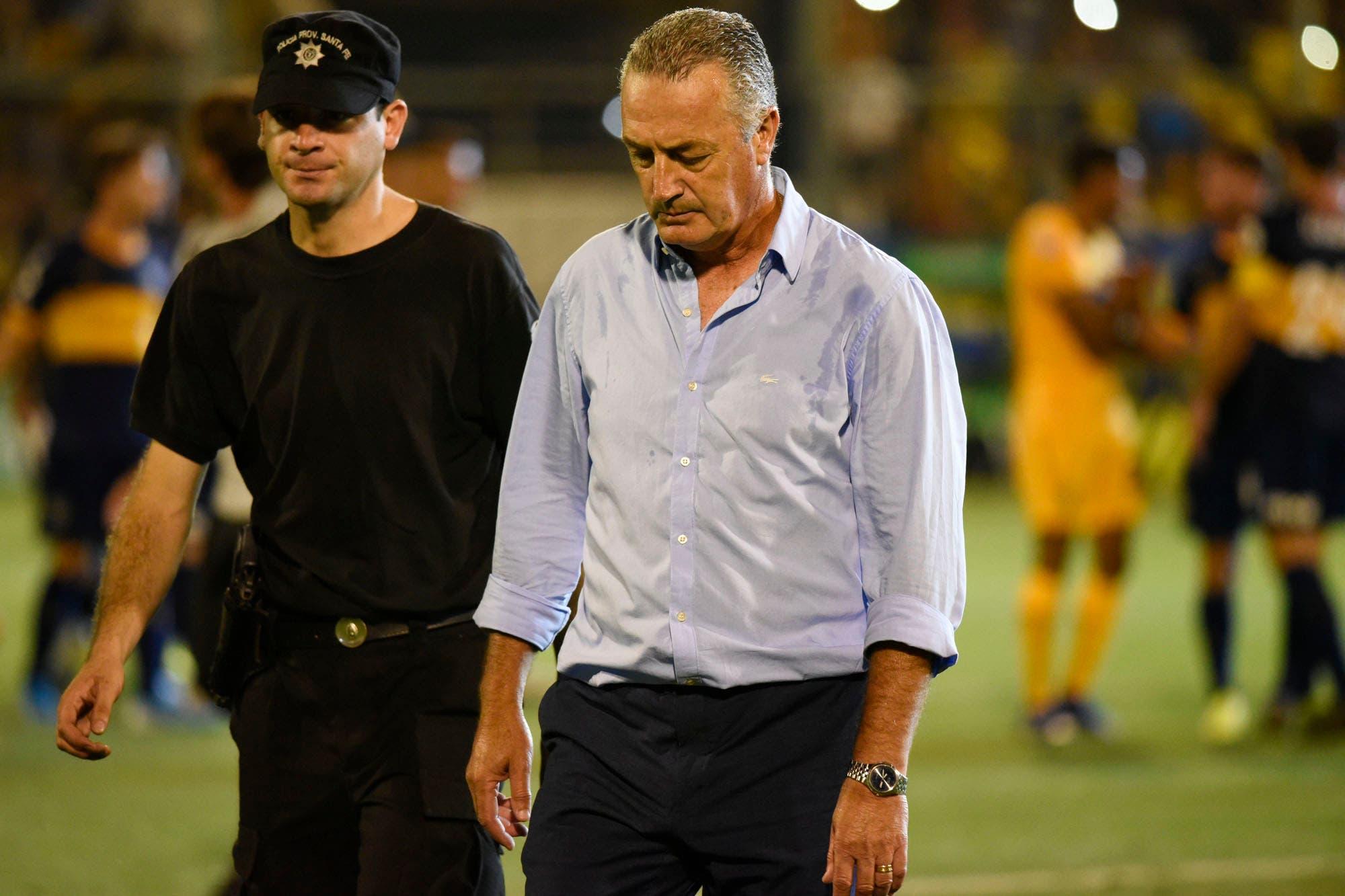 Fin de ciclo: Gustavo Alfaro se despidió de Boca en Rosario