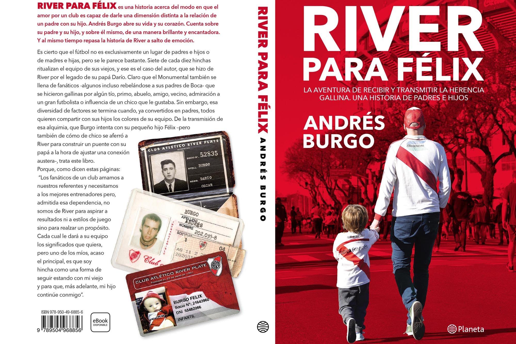 """""""River para Félix"""", una historia de amor entre padres e hijos atravesada por una camiseta"""