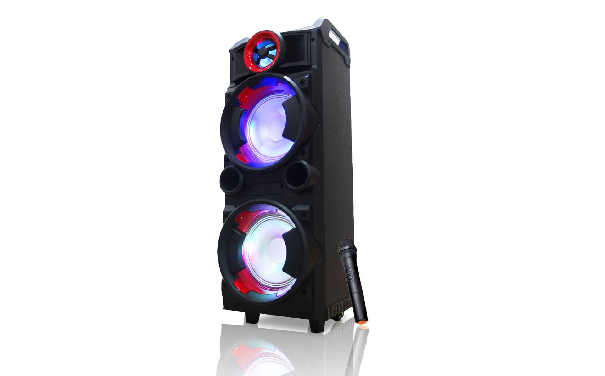 Panacom SP 3429 WM: un parlante para animar fiestas y hacer karaoke