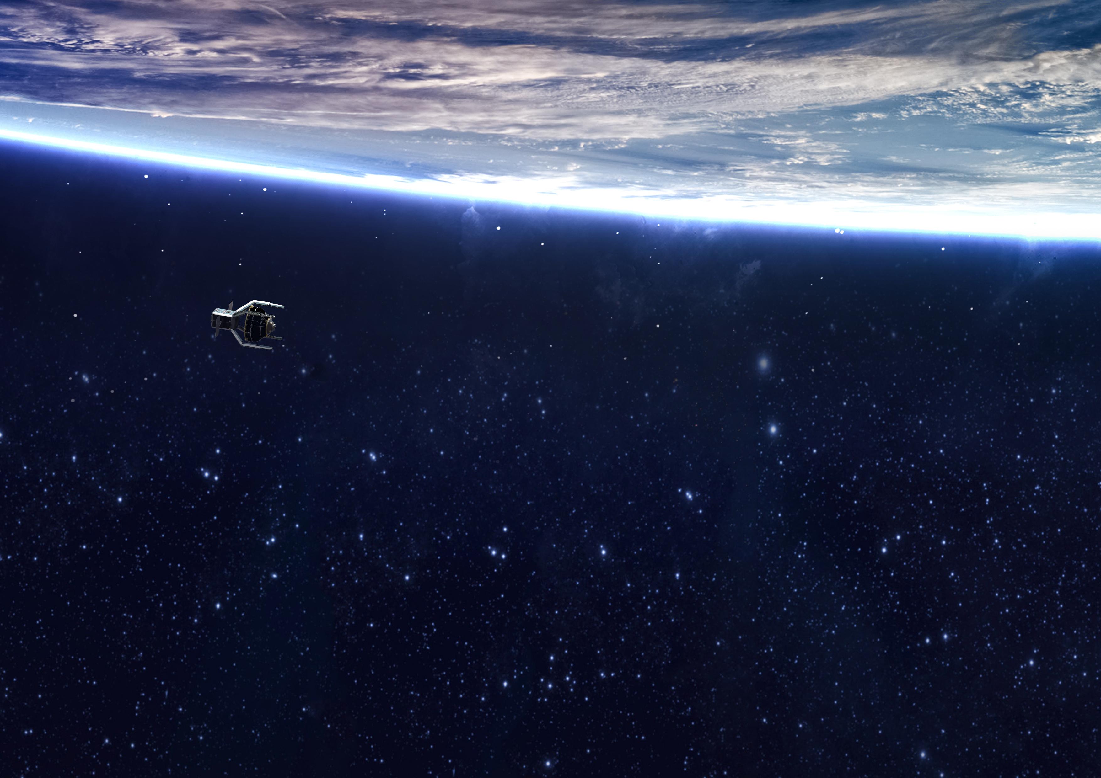 En 2025 lanzarán el primer satélite que limpiará basura de la órbita terrestre