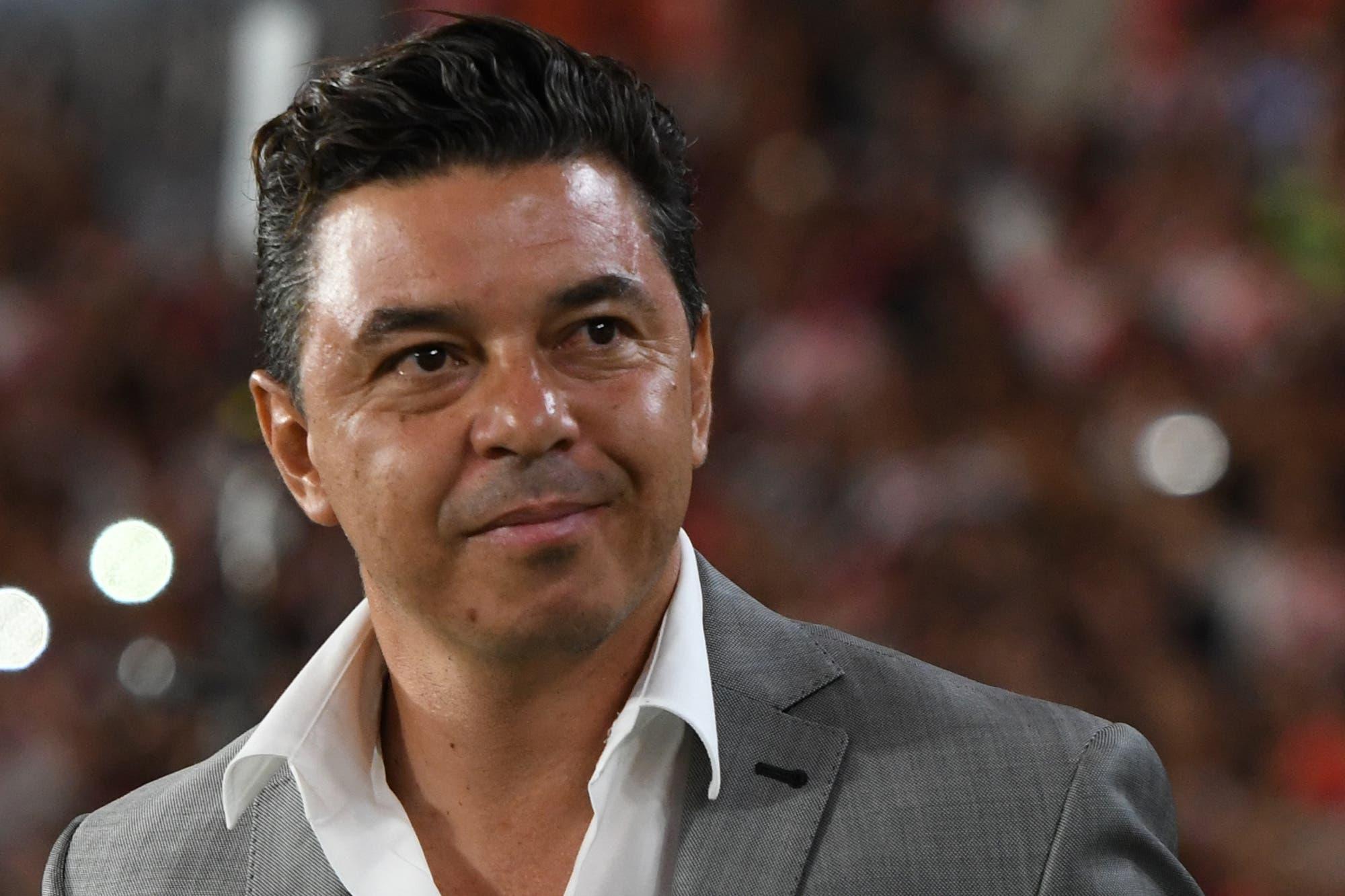 El admirable gesto de Marcelo Gallardo con el canchero de Independiente después del triunfo contra San Pablo