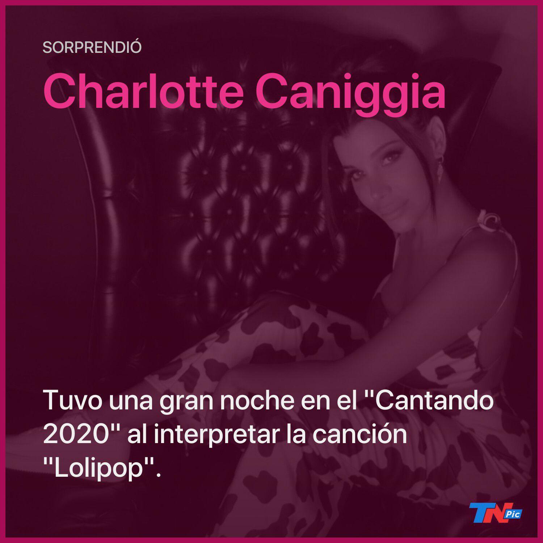 """""""Cantando 2020″: Charlotte Caniggia tuvo una gran performance y se llevó la felicitación del jurado"""