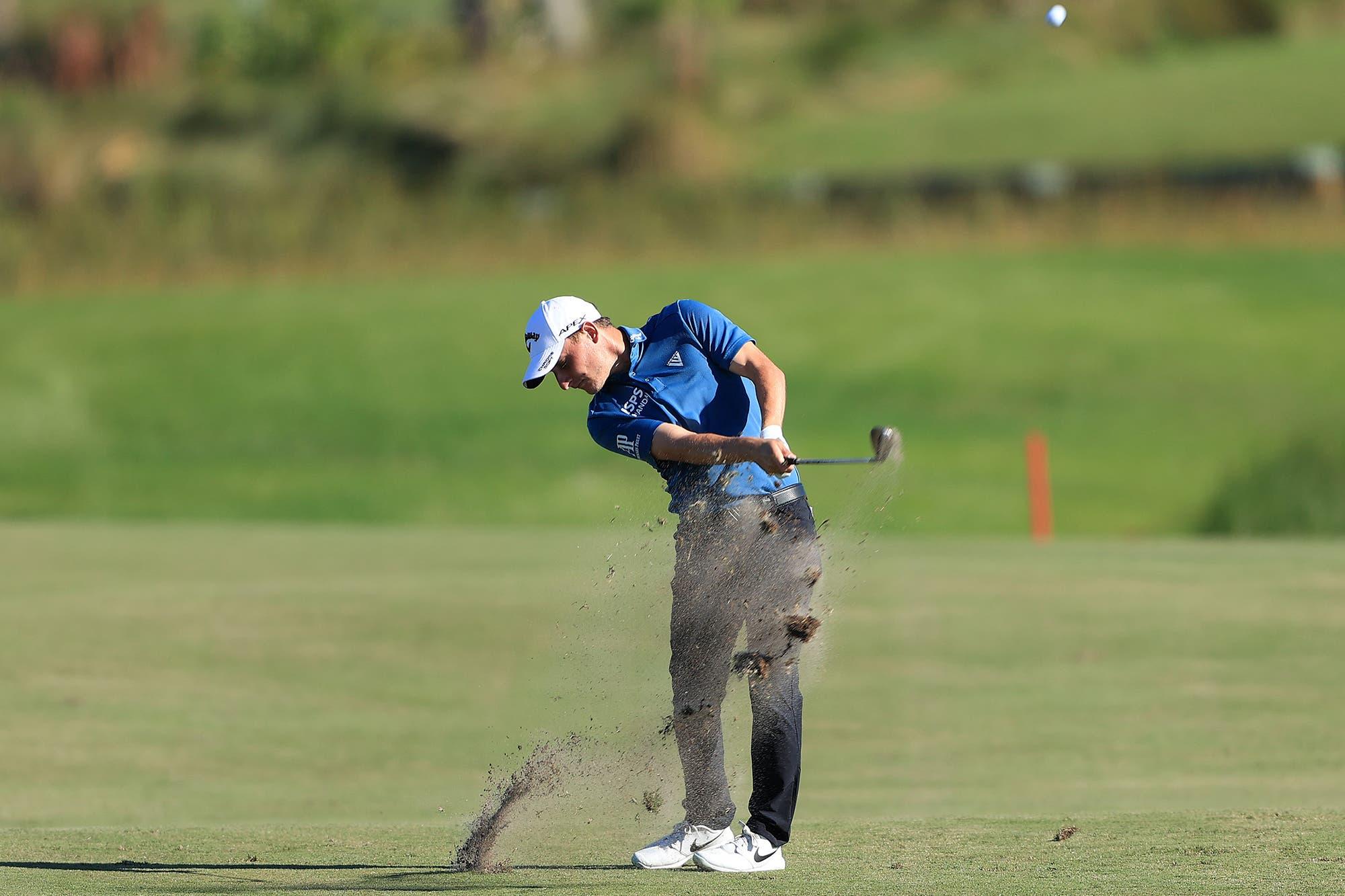 Emiliano Grillo metió todo en el green y vuelve a aspirar a su segundo título en el PGA Tour