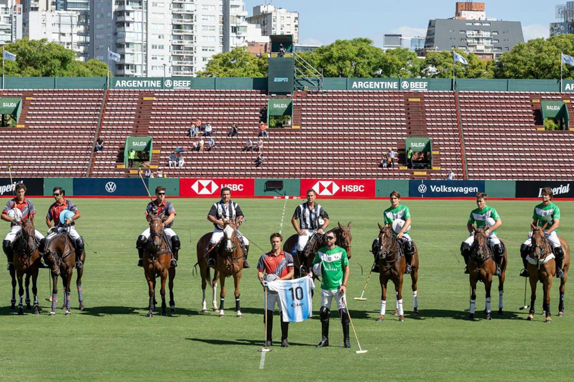 Abierto de Palermo: La Natividad-Monjitas también homenajeó a Maradona y después venció a La Irenita