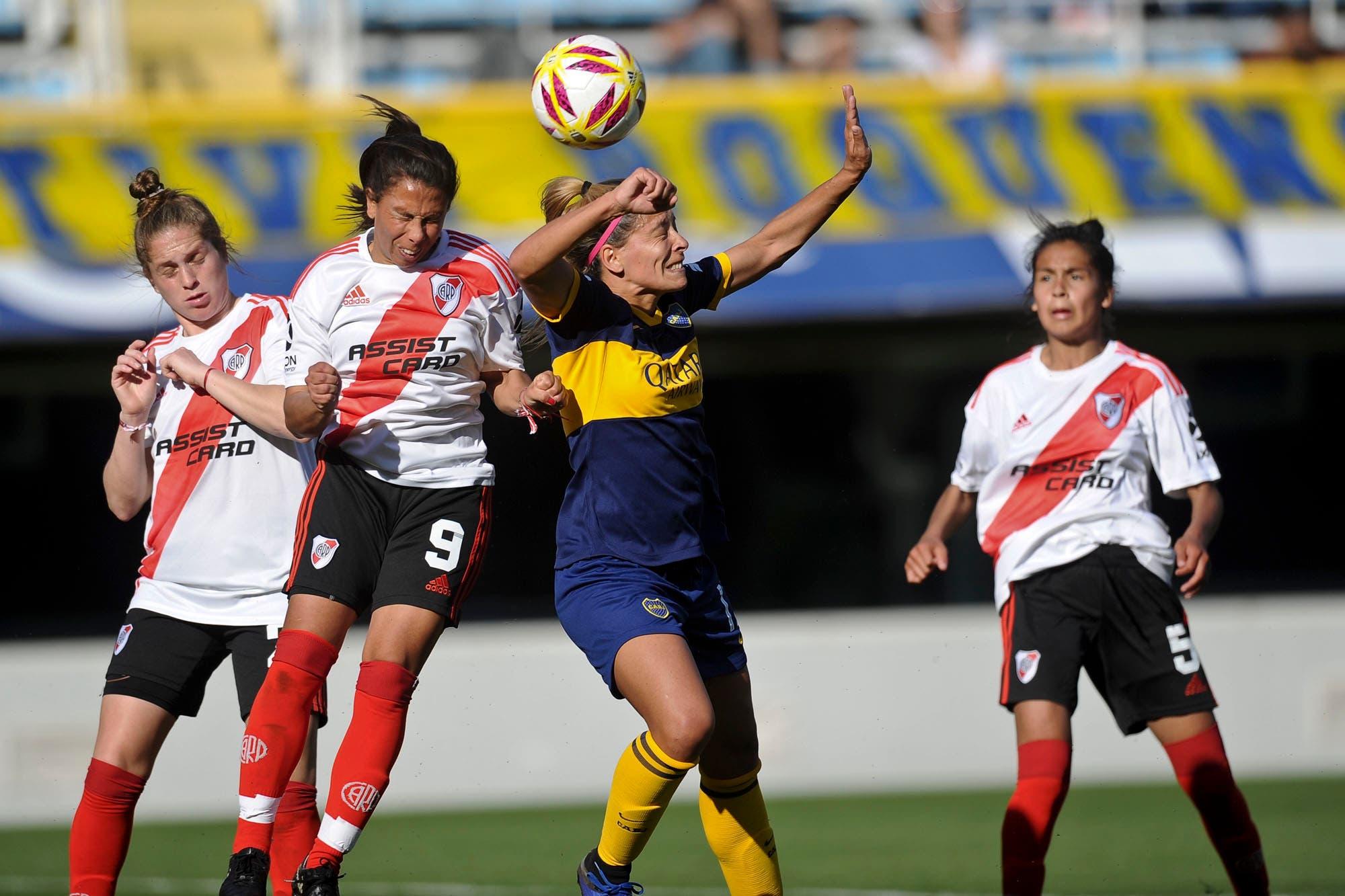 Superclásico histórico: Boca y River definirán por primera vez el campeonato femenino profesional