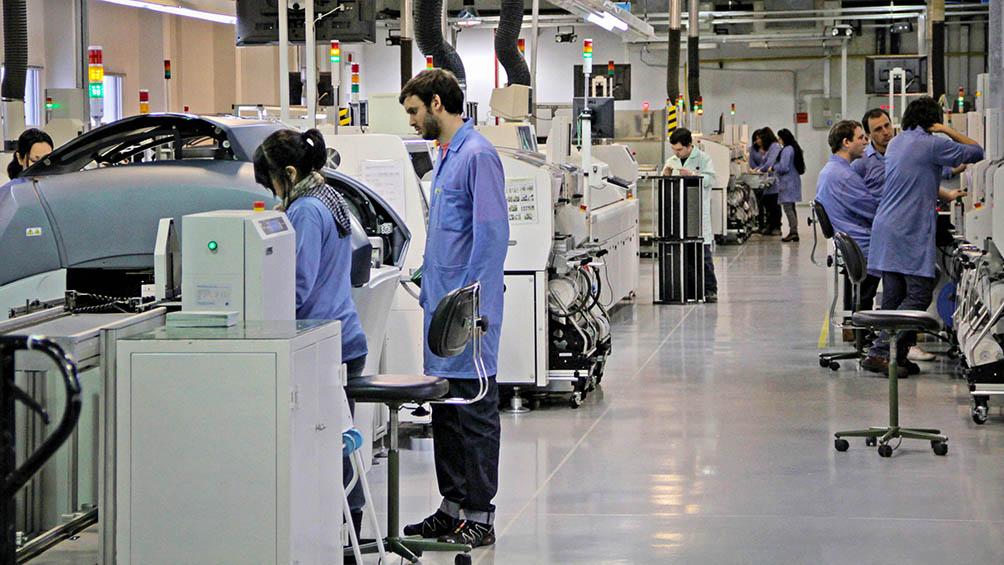 la-industria-crecio-un-16,4%-en-la-primera-mitad-del-ano