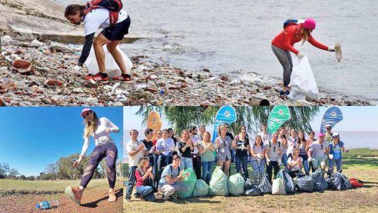 'plogging'-en-la-ciudad:-mientras-caminan-o-corren,-recogen-residuos-plasticos-para-reciclar