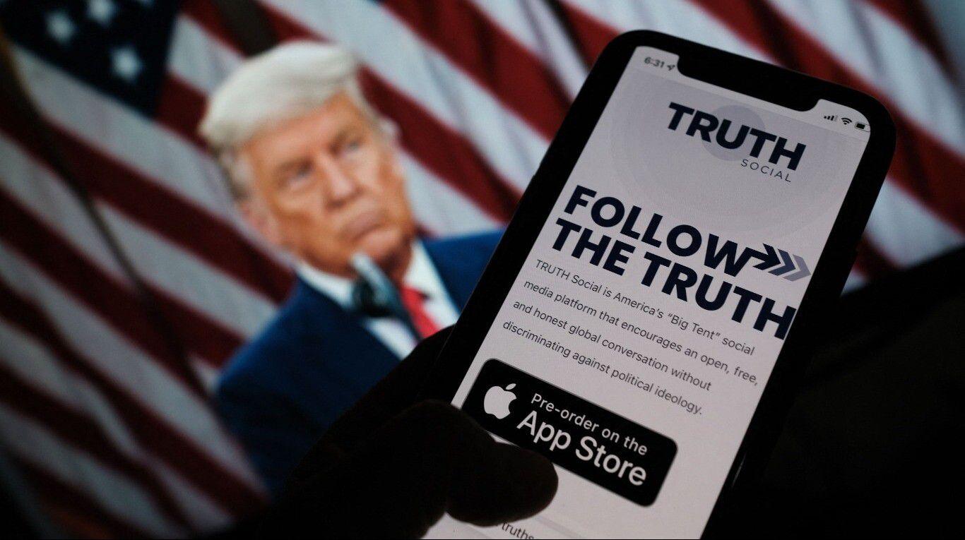 """donald-trump-anuncio-el-lanzamiento-de-su-propia-red-social:-""""truth-social"""""""
